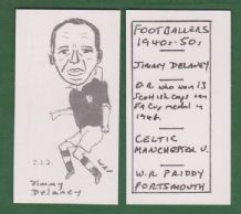 Glasgow Celtic Jimmy Delaney Scotland 223
